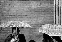 UNITED STATES / Coney Island / Brooklyn / March 2002..A Ukrainian immigrant woman...© Davin Ellicson / Anzenberger