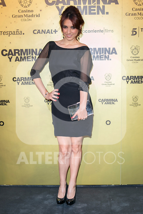 "Spanish actress Cristina Brondo attend the Premiere of the movie ""Carmina y Amen"" at the Callao Cinema in Madrid, Spain. April 28, 2014. (ALTERPHOTOS/Carlos Dafonte)"