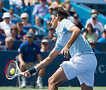 Roger Federer (SUI) Defeats Tommy Haas (GER), 1-6, 7-5, 6-3