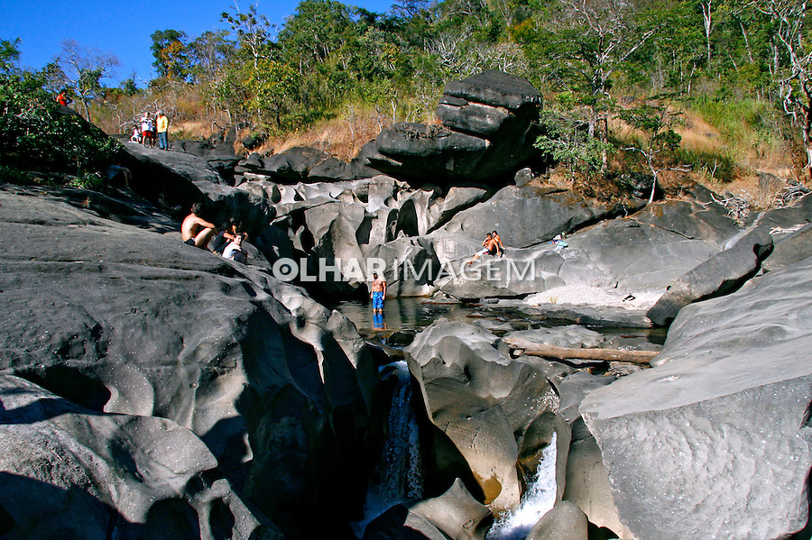 Vale da Lua no Parque Nacional da Chapada dos Veadeiros. Goiás. Foto de Flávio Bacellar.