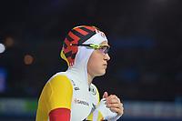 SCHAATSEN: AMSTERDAM: Olympisch Stadion, 09-03-2018, WK Allround, Coolste Baan van Nederland, 3000m Ladies, Jelena Peeters (BEL), ©foto Martin de Jong