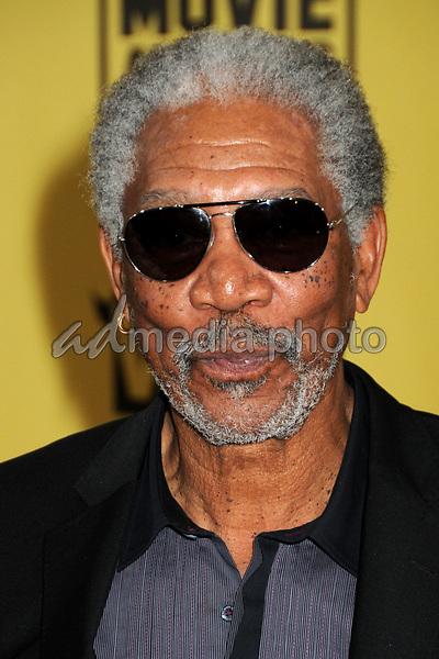 15 January 2010 - Hollywood, California - Morgan Freeman. 15th Annual Critics' Choice Movie Awards - Arrivals held at the Hollywood Palladium. Photo Credit: Byron Purvis/AdMedia