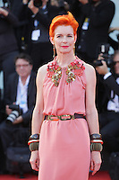 Venice, Italy - September 06: Sandy Powell attends the Closing Cerimony premiere at Palazzo Del Cinema, during the 71st Venice Film Festival on September 06, 2014 in Venice, Italy. (Photo by Mark Cape/Inside Foto)<br /> Venezia, Italy - September 06: Sandy Powell presente al premiere della cerimonia di chiusura al Palazzo Del Cinema, durante del 71st Venice Film Festival. Settenbre 06, 2014 Venezia, Italia. (Photo by Mark Cape/Inside Foto)