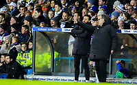 Leeds United manager Marcelo Bielsa gives instructions to substitute Jamie Shackleton<br /> <br /> Photographer Alex Dodd/CameraSport<br /> <br /> The EFL Sky Bet Championship -  Leeds United v Derby County - Friday 11th January 2019 - Elland Road - Leeds<br /> <br /> World Copyright &copy; 2019 CameraSport. All rights reserved. 43 Linden Ave. Countesthorpe. Leicester. England. LE8 5PG - Tel: +44 (0) 116 277 4147 - admin@camerasport.com - www.camerasport.com