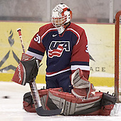 Ian Keserich (Ohio State University - Colorado Avalanche) The US Blue team lost to Sweden 3-2 in a shootout as part of the 2005 Summer Hockey Challenge at the National Junior (U-20) Evaluation Camp in the 1980 rink at Lake Placid, NY on Saturday, August 13, 2005.