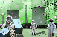 Ambiente.Environment.Aumento degli insetti in ambiente radioattivo......