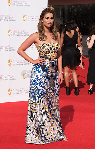LONDON, ENGLAND - MAY 08: Fearne McCann at he British Academy (BAFTA) Television Awards 2016, Royal Festival Hall, Belvedere Road, London, England, UK, on Sunday 08 May 2016.<br /> CAP/JOR<br /> &copy;JOR/Capital Pictures /MediaPunch ***NORTH AMERICA AND SOUTH AMERICA ONLY***