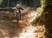 Picture by Alex Broadway/SWpix.com - 10/09/17 - Cycling - UCI 2017 Mountain Bike World Championships - Downhill - Cairns, Australia - Jack Reading of Great Britain competes in the Men's Elite Downhill Final.