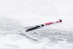 Uppsala 2014-01-12 Bandy  IK Sirius - GAIS Bandy :  <br />  Bandyklubba ligger i sn&ouml;n p&aring; isen under matchen mellan Sirius och GAIS <br /> (Foto: Kenta J&ouml;nsson) Nyckelord:  genre klubba bandyklubba is sn&ouml;