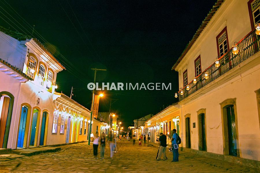 Noite em Parati. Rio de Janeiro. 2004. Foto de Renata Mello.