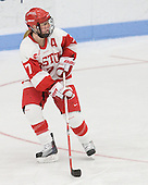 Lauren Cherewyk (BU - 7) - The Boston University Terriers defeated the visiting Northeastern University Huskies 3-0 on Tuesday, December 7, 2010, at Walter Brown Arena in Boston, Massachusetts.