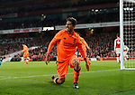 Liverpool's Roberto Firmino looks on dejected after his header goes wide during the premier league match at the Emirates Stadium, London. Picture date 22nd December 2017. Picture credit should read: David Klein/Sportimage