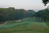 Sunset on the course during the third round of the 76 Open D'Italia, Olgiata Golf Club, Rome, Rome, Italy. 12/10/19.<br /> Picture Stefano Di Maria / Golffile.ie<br /> <br /> All photo usage must carry mandatory copyright credit (© Golffile | Stefano Di Maria)