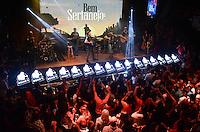 """SÃO PAULO,SP 24.03.2016 - SHOW-SP - O cantor Michel Telo realizou na madrugada desta quinta feira,24 show """"Baile do Telo"""" na casa noturna Woods Bar, localizado na zona sul de São Paulo. (Foto: Eduardo Martins / Brazil Photo Press)"""
