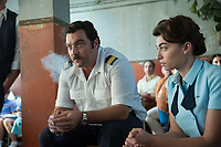 7 Days in Entebbe (2018)<br /> (Entebbe)<br /> Denis Menochet<br /> *Filmstill - Editorial Use Only*<br /> CAP/MFS<br /> Image supplied by Capital Pictures