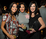 Megan Acosta, Carmen Beltran and Paula Descant at the Fall Fashion show at the Galleria Thursday  Oct. 16,2008. (Dave Rossman/For the Chronicle)