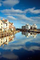 The Water of Leith, Port of Leith, Edinburgh, Lothian