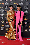 Rossy de Palma and Luna Mary attends to 33rd Goya Awards at Fibes - Conference and Exhibition  in Seville, Spain. February 02, 2019. (ALTERPHOTOS/A. Perez Meca)