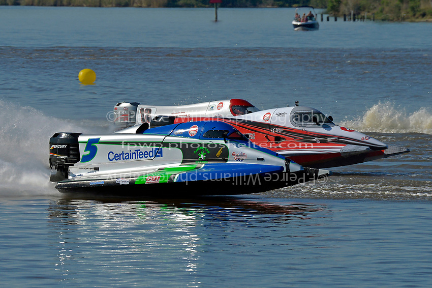 Rueben Stafford (#5), Wesley Cheatham (#4) and (#12)           (Formula 1/F1/Champ class)