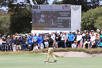 C.T. Pan (International) on the 16th green during the First Round - Four Ball of the Presidents Cup 2019, Royal Melbourne Golf Club, Melbourne, Victoria, Australia. 12/12/2019.<br /> Picture Thos Caffrey / Golffile.ie<br /> <br /> All photo usage must carry mandatory copyright credit (© Golffile | Thos Caffrey)