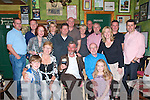 40th Birthday: Kevin Brady, centre, son Of Bridie McGrath & Pat Joe Brady, Ballyline Ballylongford, enjoying his 40th birthday party with family and friends at JohnB Keane's pub in Listowel on Friday night llast.