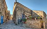 Street corner in Les Baux de Provence