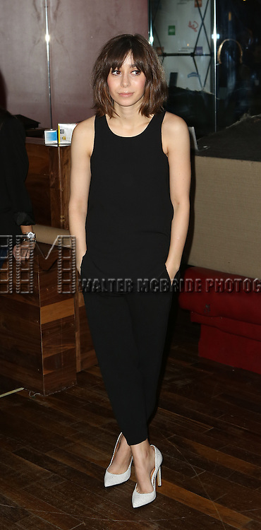 Cristin Milioti attends the 30th Annual Artios Awards at 42 WEST on January 22, 2015 in New York City.