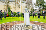Easter Rising ceremony - Formal raising of the National Flag at Páirc An Phiarsaigh, Denny Street, Tralee
