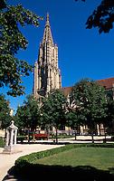 Schweiz, Münster in Bern, Unesco-Weltkulturerbe