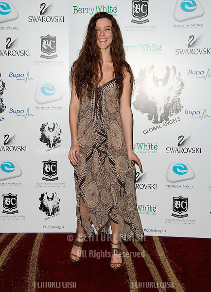 Joss Stone arriving for the Global Angels Awards at the Park Plaza Hotel in Westminster London. 02/12/2011 Picture by: Simon Burchell / Featureflash