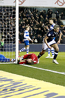 GOAL - Steve Morison of Millwall scores during the Sky Bet Championship match between Millwall and Queens Park Rangers at The Den, London, England on 29 December 2017. Photo by Carlton Myrie / PRiME Media Images.