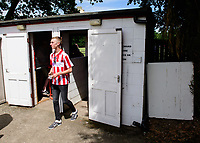 A general view of the Sun Hat Villas Stadium (Ashby Avenue), home of Lincoln United as spectators arrive<br /> <br /> Photographer Chris Vaughan/CameraSport<br /> <br /> Football - Pre-Season Friendly - Lincoln United v Lincoln City - Saturday 8th July 2017 - Sun Hat Villas Stadium - Lincoln<br /> <br /> World Copyright &copy; 2017 CameraSport. All rights reserved. 43 Linden Ave. Countesthorpe. Leicester. England. LE8 5PG - Tel: +44 (0) 116 277 4147 - admin@camerasport.com - www.camerasport.com