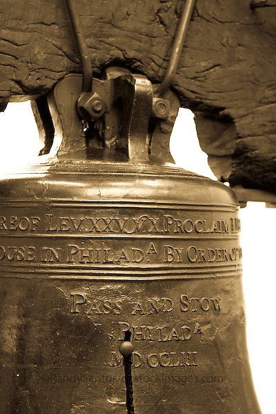 Liberty Bell Historic Philadelphia, PA   Historic District Philadelphia Pennsylvania, USA