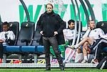 ***BETALBILD***  <br /> Solna 2015-05-31 Fotboll Allsvenskan AIK - Helsingborgs IF :  <br /> AIK:s chefstr&auml;nare tr&auml;nare Andreas Alm under matchen mellan AIK och Helsingborgs IF <br /> (Foto: Kenta J&ouml;nsson) Nyckelord:  AIK Gnaget Friends Arena Allsvenskan Helsingborg HIF portr&auml;tt portrait tr&auml;nare manager coach