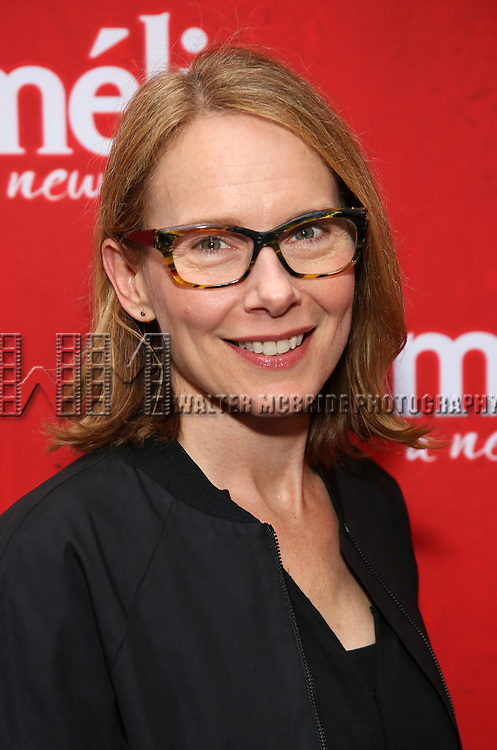 Amy Ryan attends the Broadway Opening Night performance of 'Amelie' at the Walter Kerr Theatre on April 3, 2017 in New York City