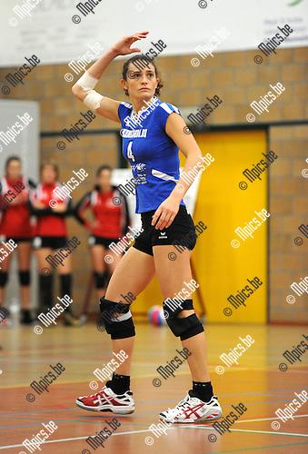 2011-10-23 / Volleybal / seizoen 2011-2012 / Msiks Blaasveld / Stefanie Van Den Broeck ..Foto: Mpics