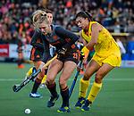 UTRECHT - Kyra Fortuin (Ned)   tijdens   de Pro League hockeywedstrijd wedstrijd , Nederland-China (6-0) .COPYRIGHT  KOEN SUYK