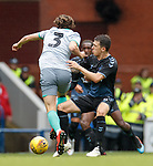 21.07.2019: Rangers v Blackburn Rovers: Ryan Jack and Sam Hart