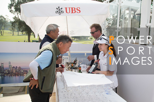Guests enjoy the UBS Pavilion during the 58th UBS Hong Kong Golf Open as part of the European Tour on 08 December 2016, at the Hong Kong Golf Club, Fanling, Hong Kong, China. Photo by Vivek Prakash / Power Sport Images