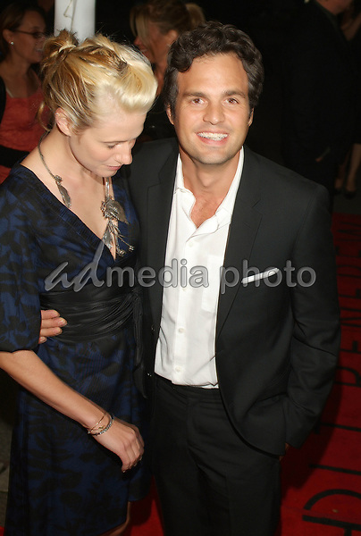 "10 September 2006 - Toronto, Ontario, Canada - Mark Ruffalo and Sunrise Coigney. ""All The Kings Men"" Press Premiere during the 2006 Toronto International Film Festival held at Roy Thomson Hall. Photo Credit: Brent Perniac/AdMedia"