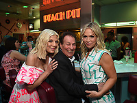 "LOS ANGELES - AUGUST 3: Tori Spelling, Joe E. Tata, and Jennie Garth attend the BH 90201 Peach Pit Pop-Up for FOX's ""BH90201"" on August 3, 2019 in Los Angeles, California. (Photo by Frank Micelotta/Fox/PictureGroup)"