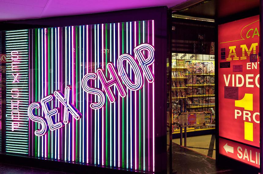 Sex shop.