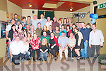 40th Birthday: Billy Leahy, Knockanure celebrating his 40th birthday with family & friends at the Kingdom Bar, Listowel on Saturday night last.