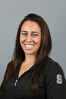 STANFORD, CA-October 16, 2014- Samantha Shapiro of the Stanford Womens Gymnastics Team
