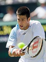 25-6-08, England, Wimbledon, Tennis, Djokovic