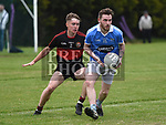 Newtown Blues Conor Moore Dreadnots Aaron Scully. Photo:Colin Bell/pressphotos.ie