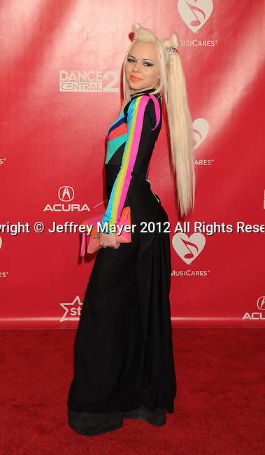 LOS ANGELES, CA - FEBRUARY 10: Kerli arrives at The 2012 MusiCares Person of The Year Gala Honoring Paul McCartney at Los Angeles Convention Center on February 10, 2012 in Los Angeles, California.