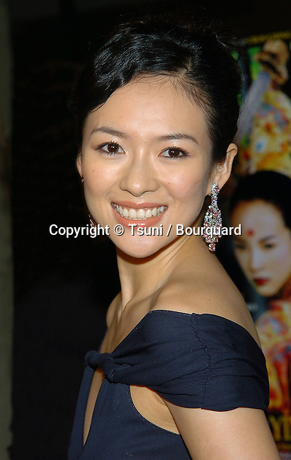 Ziyi Zhang arriving at the screening for The House Of The Flying Daggers at the AFI Fest at the Arclight Theatre in Los Angeles. November 6, 2004.