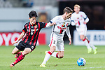Sydney Wanderers Defender Shannon Cole (R) in action against FC Seoul Midfielder Ju Se Jong (L) during the AFC Champions League 2017 Group F match between FC Seoul (KOR) vs Western Sydney Wanderers (AUS) at the Seoul World Cup Stadium on 15 March 2017 in Seoul, South Korea. Photo by Chung Yan Man / Power Sport Images