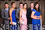 Seamus Barry, Christine McMahon, Paudie Fitzmaurice, Grainne Murphy, Ryan Prendeville and Niamh Cullinane at the Castleisland Presentation debs ball at the Earl of Desmond hotel on Saturday night.
